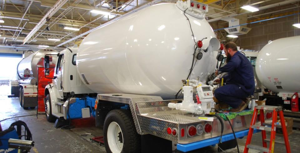 Remplissage et stockage du propane for Passer du fioul au gaz