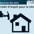 Les lois concernant les crédits d'impôt à la rénovation au Canada